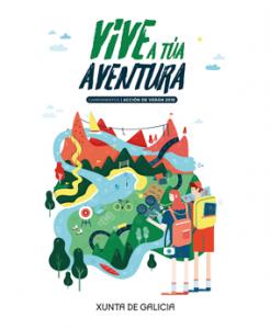 Vive a túa aventura. Campaña de verán, 2018
